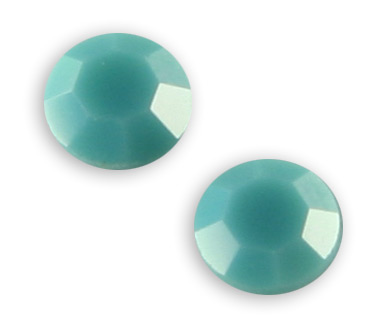2028 SS12 Turquoise Glue on Stone Pack Qty 144pcs