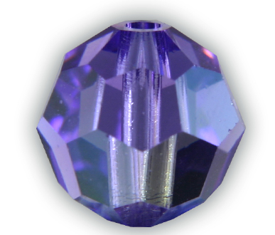 SP5000 10mm Blue Violet AB Round Bead PQ 9