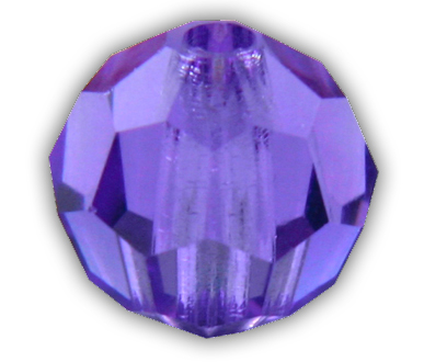 5000 8mm Blue Violet Round Bead PQ 12