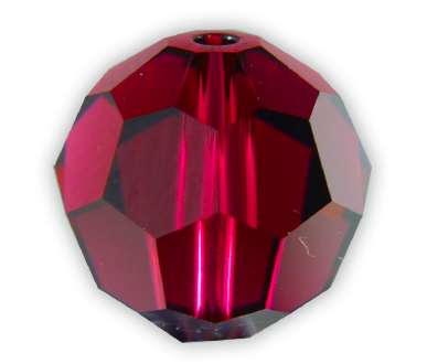 SP5000 12mm Ruby Round Bead PQ 6