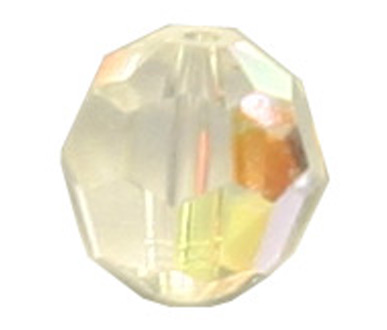 5000 6mm Crystal AB Round Bead PQ 24
