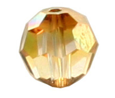 5000 6mm Crystal Copper Bead PQ 24