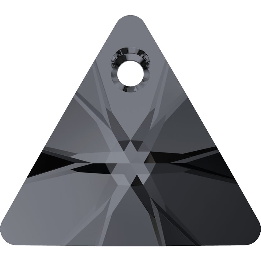 6628 12mm Silver Night Triangle Pack Qty 10