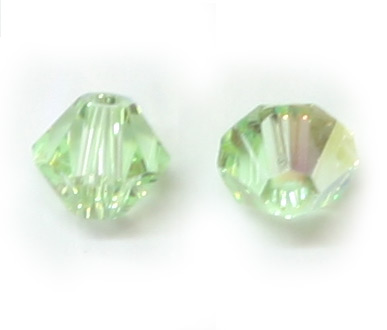 5328 4mm Chrysolite AB Bicone PQ 72