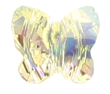 5754 8mm Crystal AB Butterfly Bead PQ 8