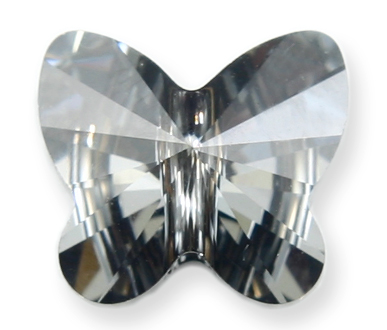 5754 10mm SIlver Night Butterfly Bead PQ 4