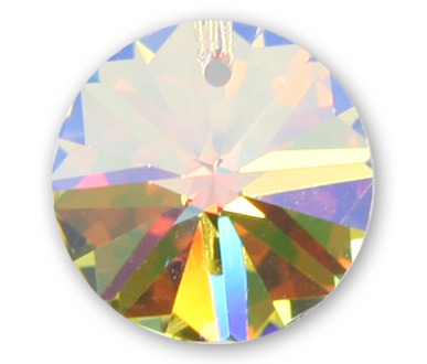 6200 6mm Crystal AB Round Star Pack Qty 20