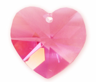 6202 10mm Rose Heart Pack Qty 12