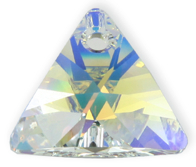 6628 8mm Crystal AB Triangle Pack Qty 20
