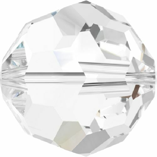 5000 6mm Crystal Round Bead PQ 24