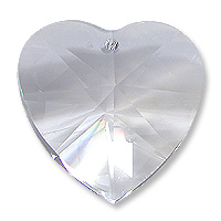 EU870 28mm Crystal Heart Pack Qty 4