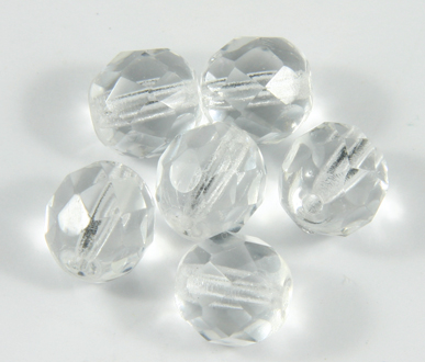 Fire Polished 8mm Crystal Round Bead PQ 55