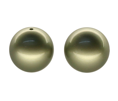 5810 5mm Powder Green Pearls PQ 100