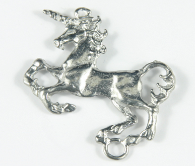 PPCR 40mm Pewter Unicorn Pack Qty10