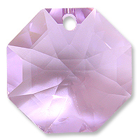 Strass U8115 14mm Violet 1 Hole Octagon Pack of 10