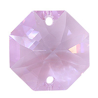 Strass U8116 14mm Violet 2 Hole Octagon Pack of 10