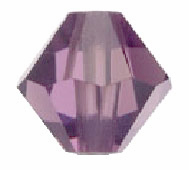 SL5301 4mm Medium Amethyst Bicone PQ 144