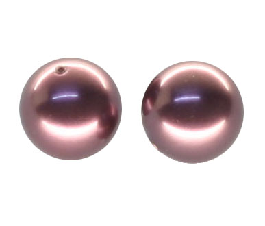 5810 5mm Burgundy Pearls PQ 100
