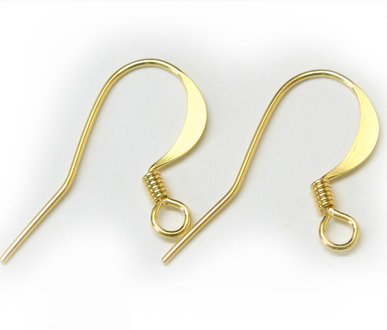 JFFH 17mm Gold Plated French Hook Pack Qty 50