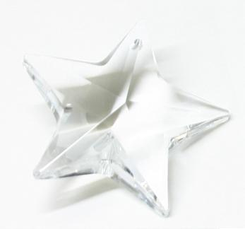 H881 40mm Crystal Star Pack of 2