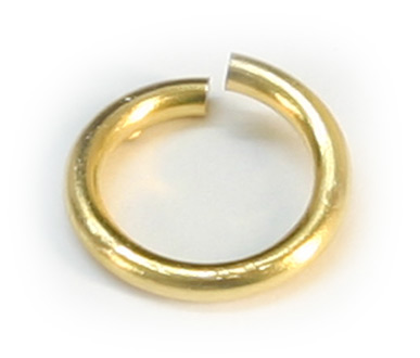 JR/4.OD 4mm Gold Plated Jump Ring Pack Qty 144
