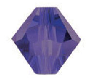 5328 5mm Purple Velvet Bicone PQ 48